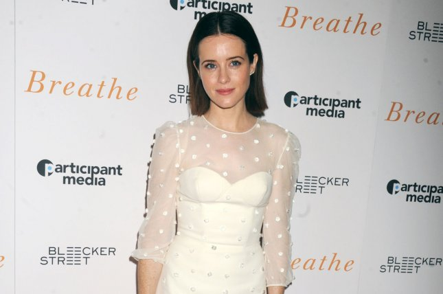 The Crown star Claire Foy. The actress has received a BAFTA Television Award nomination for Leading Actress alongside Thandie Newton. File Photo by Dennis Van Tine/UPI