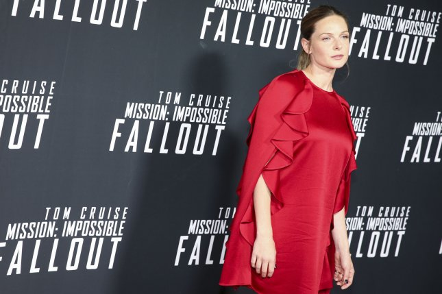 Rebecca Ferguson attends the Mission: Impossible-Fallout DC premiere at the Smithsonian's National Air and Space Museum on July 22 in Washington, D.C. The actor turns 35 on October 19. File Photo by Oliver Contreras/UPI