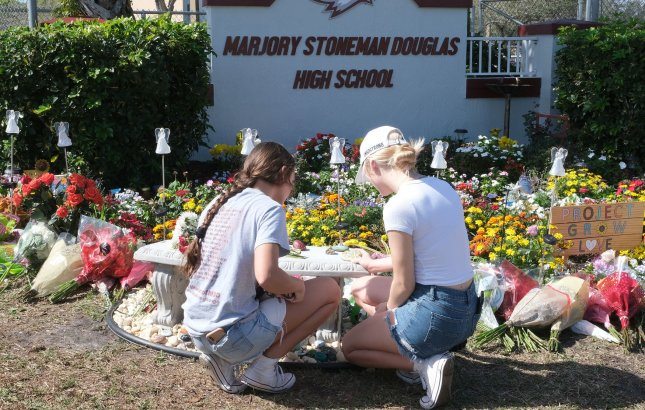 Former Marjory Stoneman Douglas school resource officer Scot Peterson was arrested for not entering the high school during a mass shooting last year. FIle Photo by Gary Rothstein/UPI