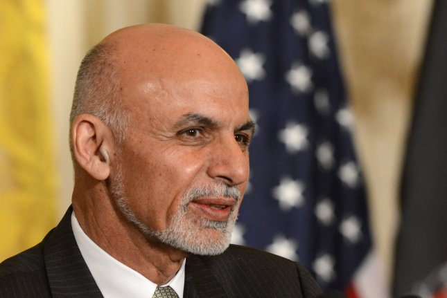 Afghan President Ashraf Ghani said the prisoner exchange may lead to the start of peace negotiations between his government and the Taliban. File Photo by Pat Benic/UPI