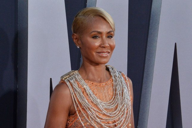 Jada Pinkett Smith co-hosts the Facebook Watch series Red Table Talk. File Photo by Jim Ruymen/UPI