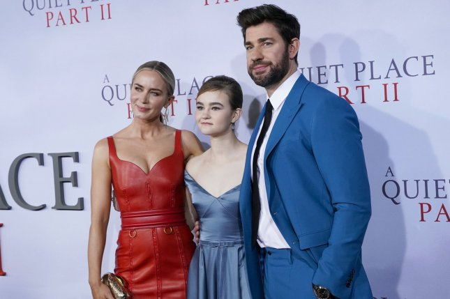 The release of A Quiet Place Part II has been moved from March 20 to an unspecified future date due to the coronavirus outbreak and several award shows have been canceled. Photo by John Angelillo/UPI