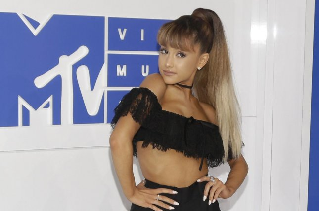 Ariana Grande arrives on the red carpet at the 2016 MTV Video Music Awards at Madison Square Garden in New York City on August 28, 2016. File Photo by John Angelillo/UPI