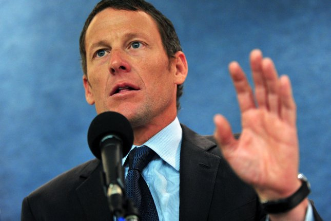Lance Armstrong, who in 2013 admitted to doping following a decade of denial, is facing a $100 million lawsuit brought forth by the federal government, which sponsored Armstrong from 2000 until 2004. The U.S. Postal Service argues it would never have sponsored Armstrong if it knew he and his team violated his sponsorship contract by lying about doping. File Photo by Kevin Dietsch/UPI