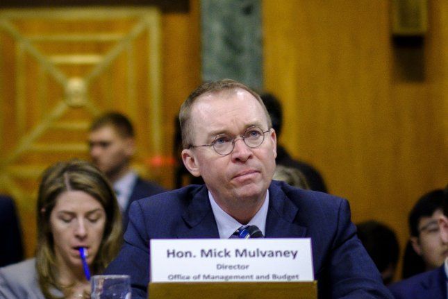Budget Director Mick Mulvaney told the House budget committee Wednesday President Donald Trump's proposed military parade could cost up to $30 million. File Photo by Pete Marovich/UPI
