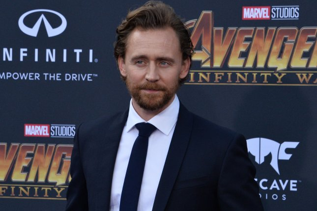 Tom Hiddleston who portrays Loki in the Marvel cinematic universe. A series based on Loki is in development for Disney's streaming service. File Photo by Jim Ruymen/UPI.