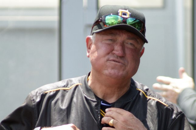 Pittsburgh Pirates manager Clint Hurdle (13). Photo by Archie Carpenter/UPI