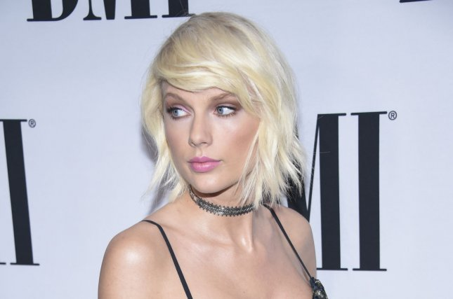 Taylor Swift attends the 64th Annual BMI Pop Awards held at the Beverly Wilshire in Beverly Hills, Calif., on May 10, 2016. Photo by Phil McCarten/UPI