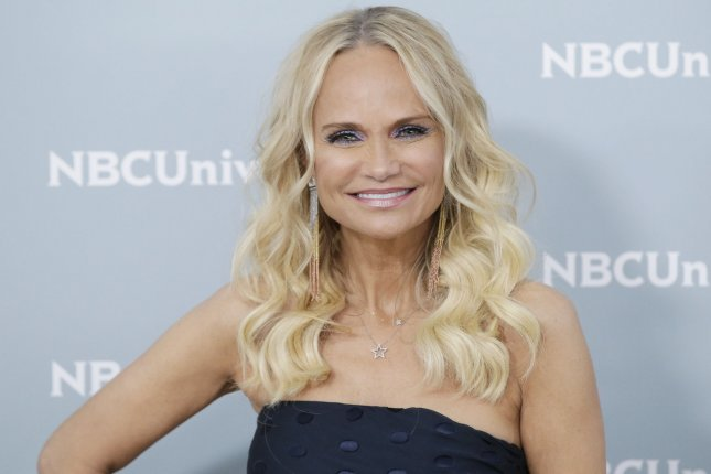 Kristin Chenoweth arrives on the red carpet at the 2018 NBCUniversal Upfront at Radio City Music Hall on May 14 in New York City. She turns 50 on July 24. File Photo by John Angelillo/UPI