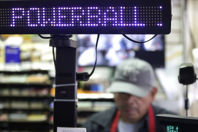 A New Jersey man who bought Powerball tickets at the last possible minute ended up winning a $1 million jackpot. File Photo by John Angelillo/UPI