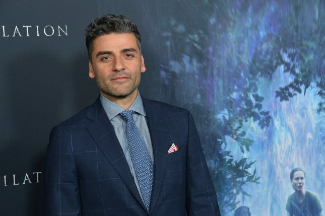 Oscar Isaac attends the premiere of Annihilation at the Regency Village Theatre in the Westwood section of Los Angeles on February 13. The actor turns 40 on March 9. File Photo by Jim Ruymen/UPI