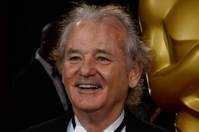 Actor Bill Murray arrives on the red carpet at the 86th Academy Awards at the Hollywood and Highland Center in the Hollywood section of Los Angeles on March 2, 2014. UPI/Jim Ruymen