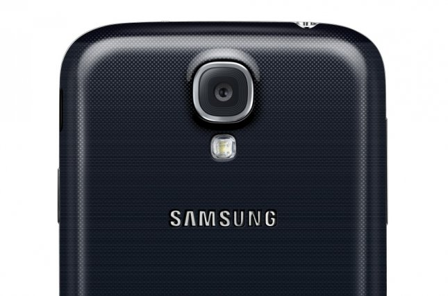 A view of the new Samsung Galaxy S4 on March 15, 2013. (File/UPI/Samsung/HO)