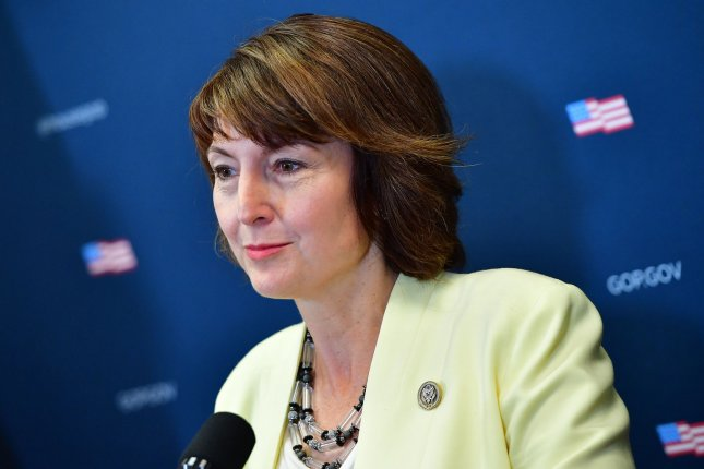 Rep. Cathy McMorris Rodgers, R-Wash., was sanctioned by the House Ethics Committee on Thursday for misuse of campaign funds. File Photo by Kevin Dietsch/UPI