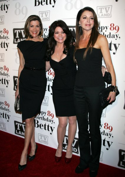 Wendy Malick, Valerie Bertinelli and Jane Leeves arrive for Betty White's 89th Birthday Party at Le Cirque in New York on January 18, 2011. UPI /Laura Cavanaugh