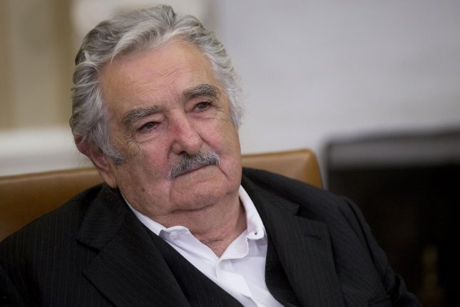 Jose Mujica Cordano, Uruguay's former president, made the decision to accept six former inmates from the Guantanamo Bay detention camp in December. File Photo by UPI/Andrew Harrer.