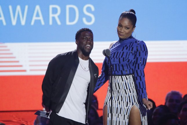 Kevin Hart and Tiffany Haddish were presenters at the 35th annual MTV Video Music Awards in New York City Monday. Netflix said Tuesday Haddish will star in her own standup comedy special. Photo by John Angelillo/UPI