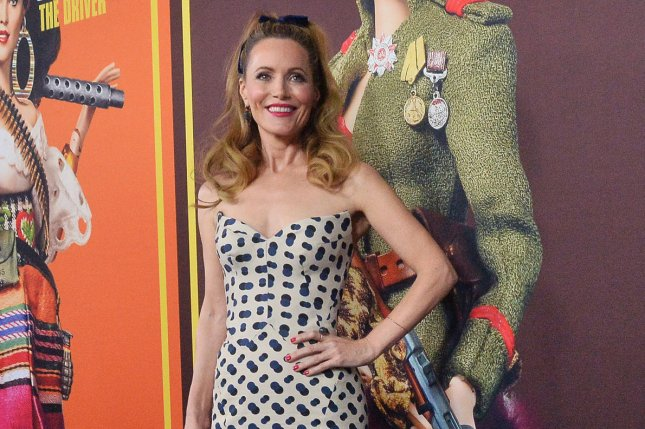 Leslie Mann recalled her crush on Brendan Fraser during Wednesday's episode of Busy Tonight. File Photo by Jim Ruymen/UPI