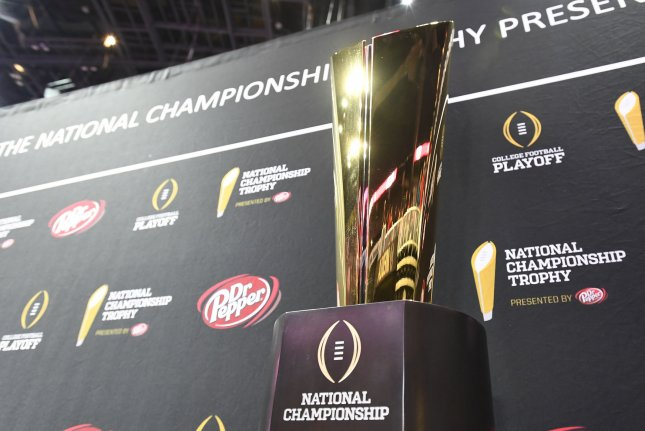 Four Power 5 conference champions were selected for the College Football Playoff for the first time since 2015. File Photo by David Tulis/UPI