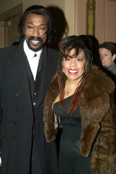 Nick Ashford and his wife Valerie Simpson. Ashford, who suffered from throat cancer, died at the age of 70. lc/Laura Cavanaugh UPI