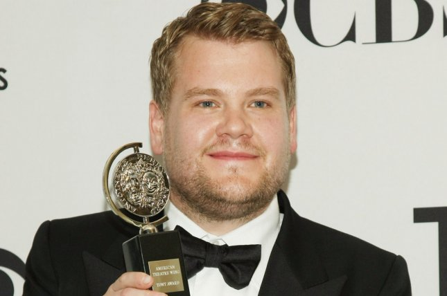 James Corden in a June 2012 UPI file photo.