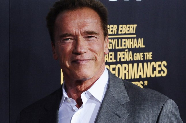 Arnold Schwarzenegger attends the premiere of the motion picture crime thriller End of Watch, at Regal Cinemas L.A. Live in Los Angeles on September 17, 2012. Photo Jim Ruymen/UPI