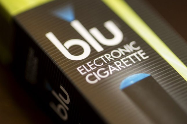 An electronic cigarettes package is seen in Washington, D.C. on April 24, 2014. Researchers have found more evidence that electronic cigarettes are not as harmless as previously thought. UPI/John Angelillo