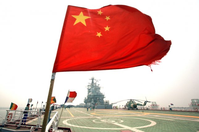 China's navy is carrying out multiple exercises in areas near North Korea. File Photo by Stephen Shaver/UPI