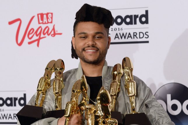 The Weeknd gave $500,000 to organizations supporting the Black Lives Matter movement following George Floyd's death. File Photo by Jim Ruymen/UPI