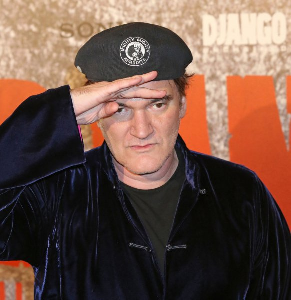 Quentin Tarantino arrives at the French premiere of the film Django Unchained in Paris on January 7, 2013. UPI/David Silpa.