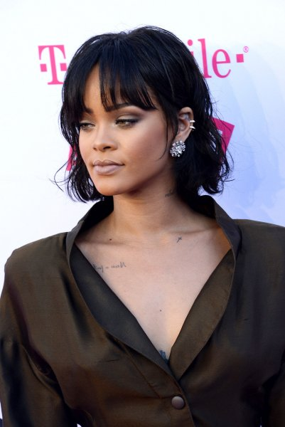 Singer Rihanna attends the annual Billboard Music Awards held at T-Mobile Arena in Las Vegas on May 22. Photo by Jim Ruymen/UPI