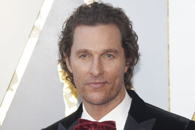 Matthew McConaughey will star in and executive produce FX's Redeemer from creator Nic Pizzolatto. File Photo by John Angelillo/UPI