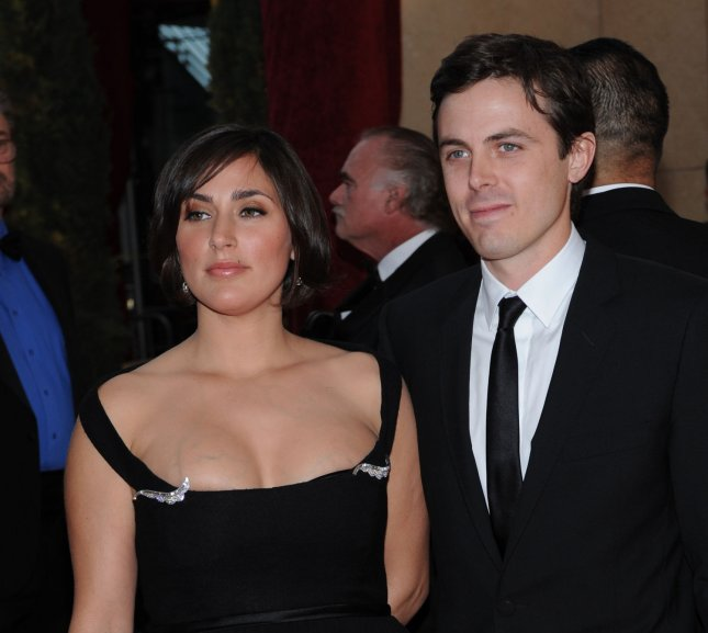 Casey Affleck (R) and Summer Phoenix arrive at the 80th Academy Awards on February 24, 2008. Phoenix has filed for divorce from Affleck citing irreconcilable differences. File Photo by Jim Ruymen/UPI