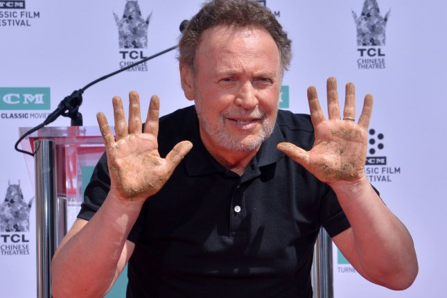 Billy Crystal is set to co-host Sunday's Feeding America Comedy Festival. File Photo by Jim Ruymen/UPI