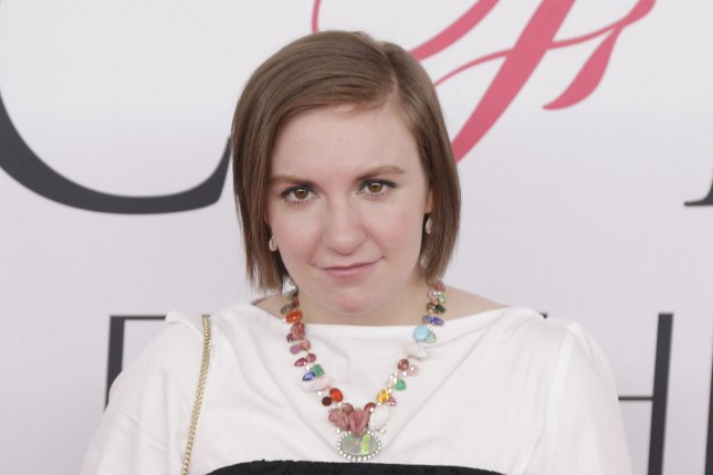 Lena Dunham is writing and will direct a film based on the Polly Pocket toy line from Mattel. File Photo by John Angelillo/UPI