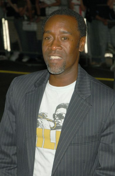 Actor Don Cheadle arrives at the Elgin Theater for the premiere of The Assassination of Jesse James By The Coward Robert Ford during the Toronto International Film Festival in Toronto, Canada on September 8, 2007. (UPI Photo/Christine Chew)