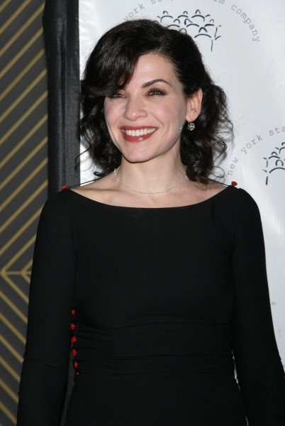 Julianna Margulies arrives for the New York Stage and Film's Annual Gala at the Plaza Hotel in New York on December 13, 2009. UPI /Laura Cavanaugh