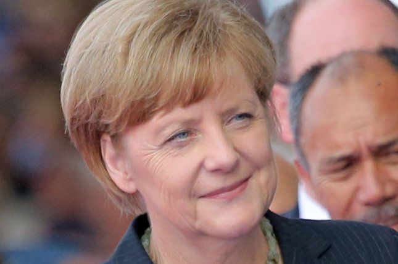 German Chancellor Angela Merkel decried anti-Muslim prejudice in a Berlin speech Thursday. UPI/David Silpa
