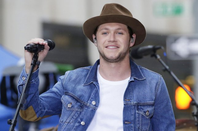Niall Horan performs on the NBC Today show at Rockefeller Center in New York City on May 29. The singer turns 24 on September 13. File Photo by John Angelillo/UPI