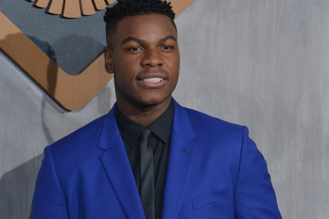 Cast member John Boyega attends the premiere of the sci-fi motion picture Pacific Rim Uprising in Los Angeles on Wednesday. Photo by Jim Ruymen/UPI