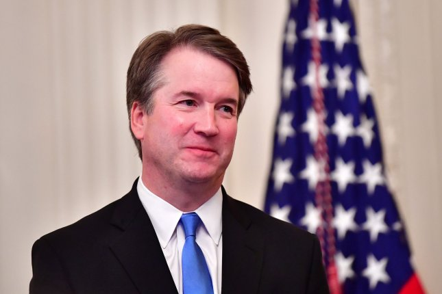 Supreme Court Associate Justice Brett Kavanaugh was sworn in to the Supreme Court after the Senate confirmed his nomination Saturday. Chief Justice Roberts has transferred ethics complaints regarding his judicial temperament to the 10th Circuit for review. Photo by Kevin Dietsch/UPI