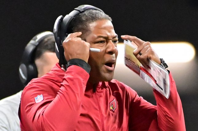 Former Arizona Cardinals head coach Steve Wilks was fired after one season with the franchise. Photo by David Tulis/UPI