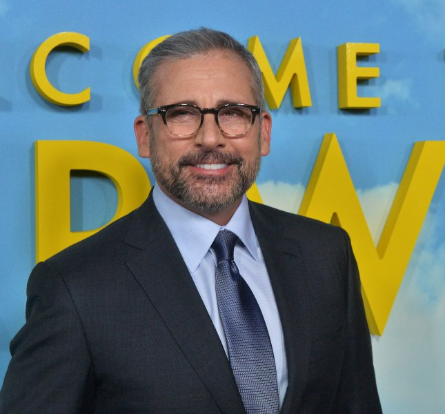 Steve Carell's new comedy Irresistible will be released on video-on-demand platforms on June 26. File Photo by Jim Ruymen/UPI