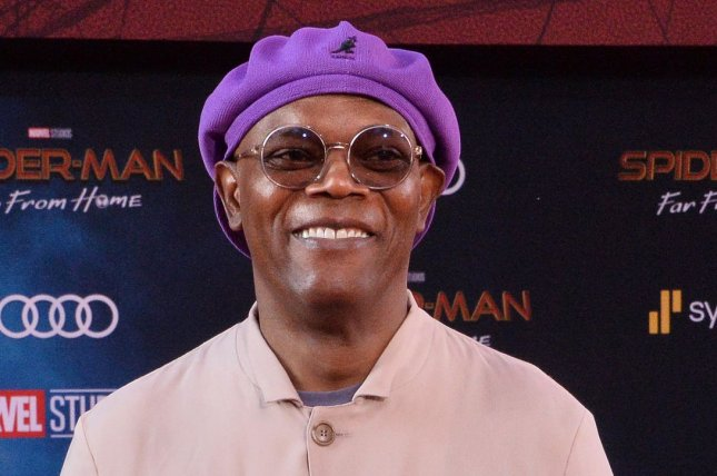 Samuel L. Jackson will appear in Enslaved, a docuseries about the transatlantic slave trade that will launch on Epix in September. File Photo by Jim Ruymen/UPI
