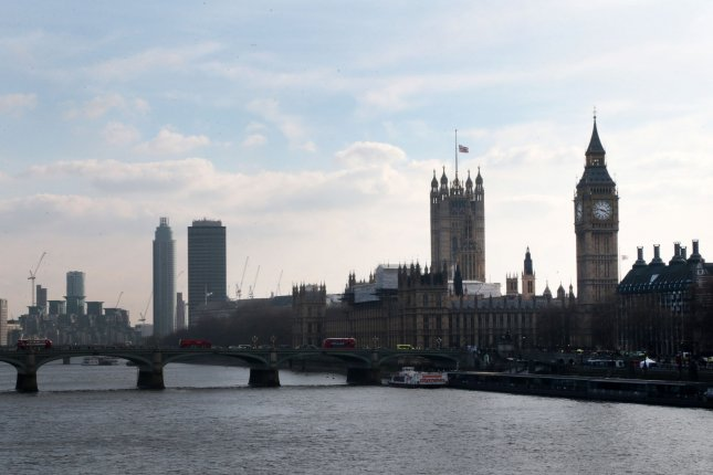 A powerful group of MPs is demanding an end to Russian money flowing into Britain, claiming it puts national security at risk. File Photo by Hugo Philpott/UPI