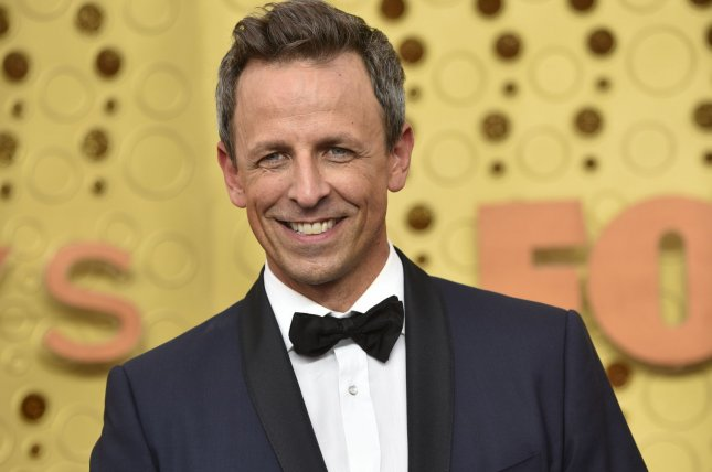 NBC said Seth Meyers will host Late Night through 2025. File Photo by Christine Chew/UPI