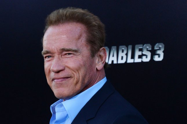 Arnold Schwarzenegger says he will be back for the sixth 'Terminator' movie. File photo by Jim Ruymen/UPI