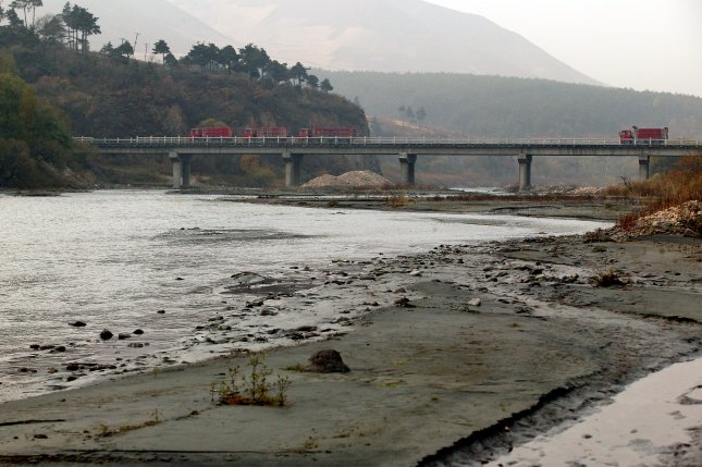 Children under the age of five living in North Korea's northeastern province of Hamgyong have been severely affected by waterborne diseases since massive flooding took place from Aug. 29-Sept. 2. (UPI Photo/Stephen Shaver)