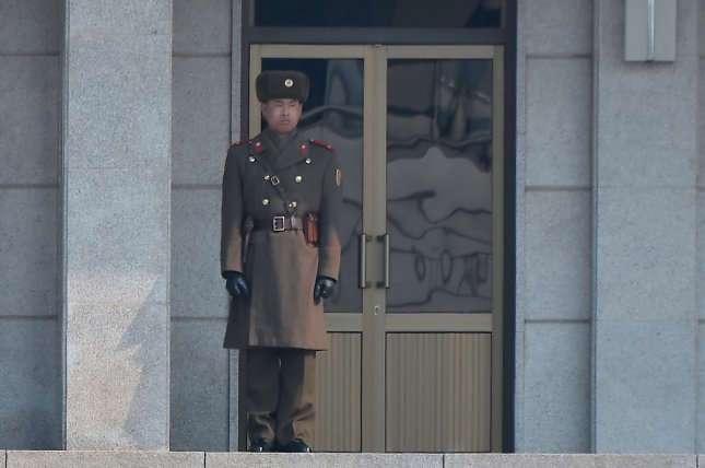 Soldiers in North Korea's army are on alert after a group of officers were arrested for slandering Kim Jong Un. File Photo by Keizo Mori/UPI