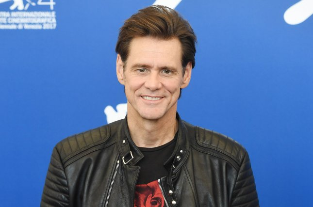 Jim Carrey attends a photo call for Jim & Andy: The Great Beyond on September 5. Carrey is set to star in a new television series on Showtime. File Photo by Rune Hellestad/ UPI